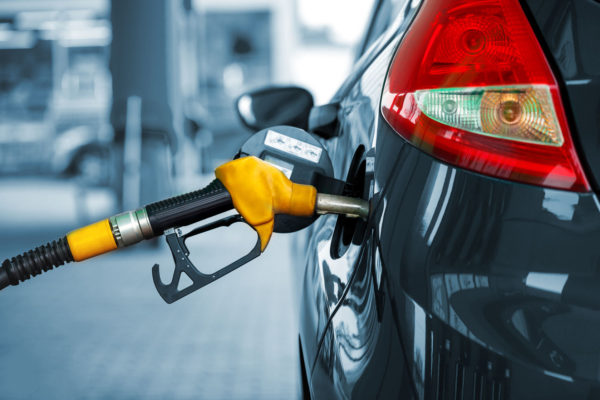 60058286 - car refueling on a petrol station closeup